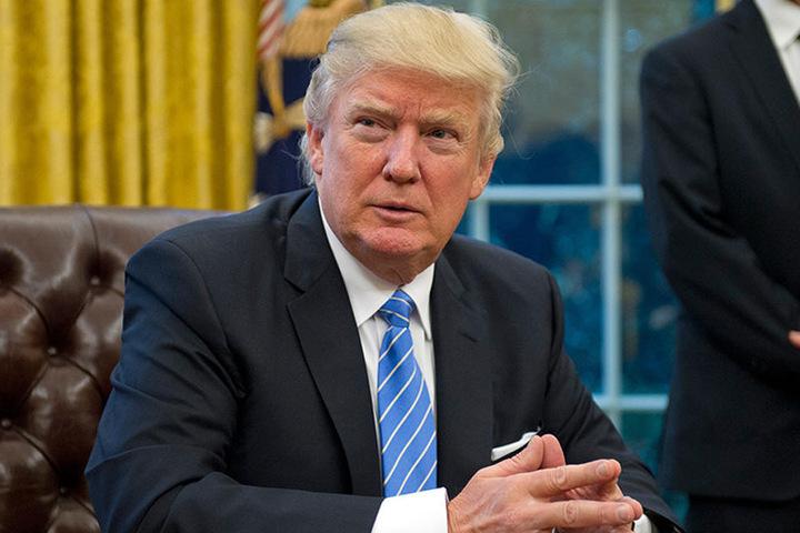 Trump (70)  wirft mit seiner Politik so einiges durcheinander.