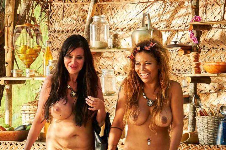 Am Montag stieß Djamila neu dazu. Patricia Blanco führte sie auf der Insel rum.
