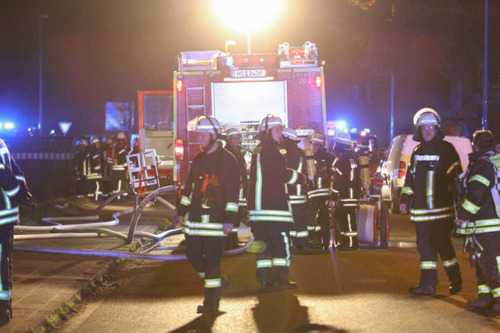 Für die Kameraden der Feuerwehr war es ein Großeinsatz.