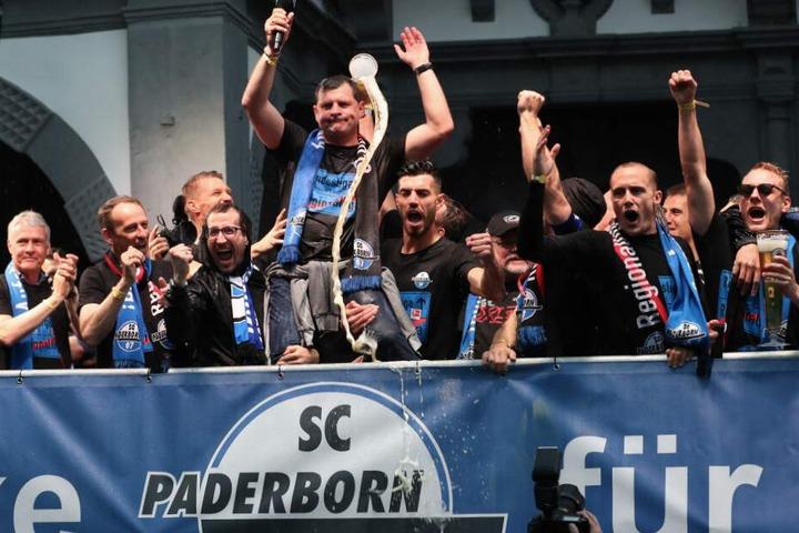 Der SC Paderborn hat eine erfolgreiche Zweitliga-Saison hinter sich gebracht.