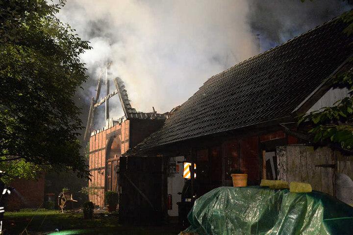 400.000 Euro Schaden entstanden bei dem Feuer.