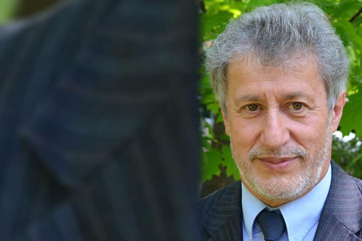 Lothar Fritzsch (67) vom Landesverband der Kleingärtner.