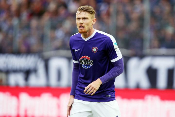 Darmstadt, Augsburg und Hannover haben Interesse an Abwehrspieler Steve Breitkreuz.