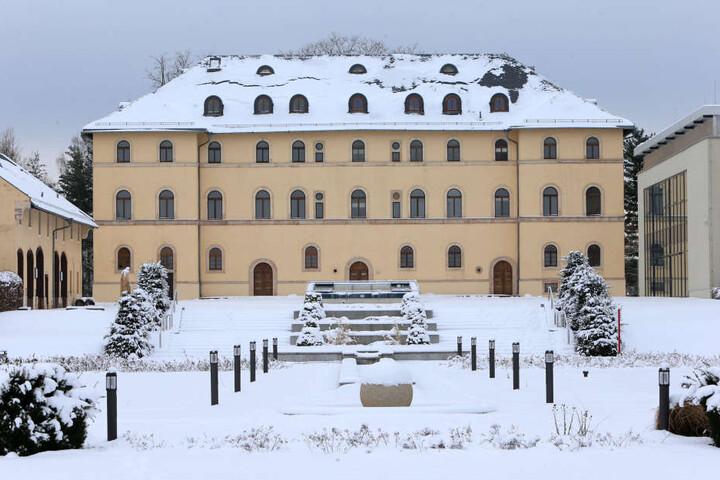 Das Daetz-Centrum ist im Schlosspalais in Lichtenstein untergebracht.