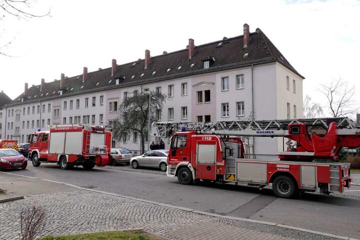 Die Feuerwehr musste am Dienstag zu einem Einsatz in der Commeniusstraße ausrücken.