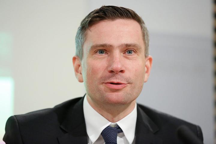 Sein Ministerium will die Brücken-Sanierung nicht fördern: Verkehrsminister Martin Dulig (45, SPD).