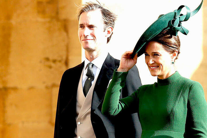 Der Sohn von Pippa Middleton (35, rechts) und James Matthews (43) kam am 15. Oktober zur Welt.