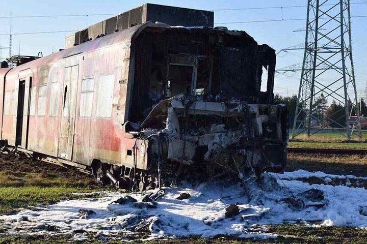 Der Zugführer starb bei dem Unglück.