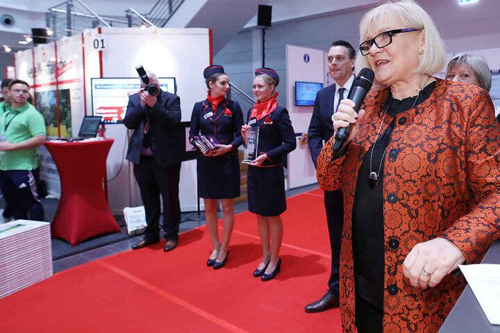 Bürgermeisterin Karin Schrader betonte, dass die Initiative vom Bewerber ausgehen muss.