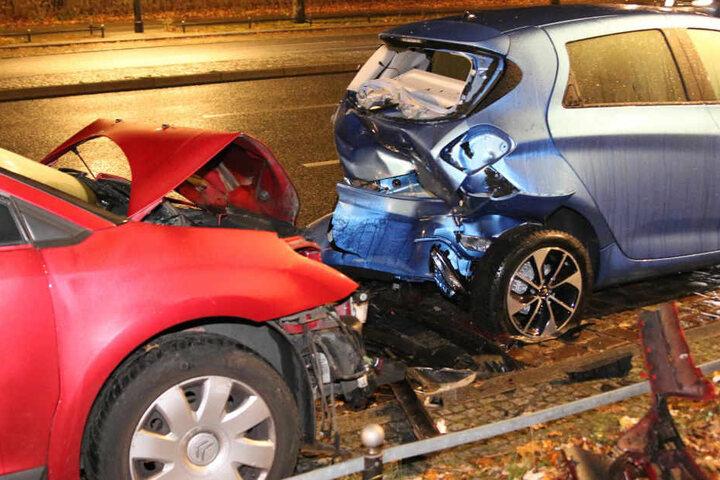 Vermutlich wegen eines Schwächeanfalls verlor der Fahrer die Kontrolle.