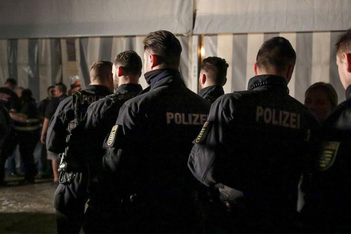 300 Polizeibeamte waren im Einsatz.