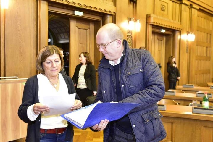 Rechts: Dr. Dirk Kall (49), kaufmännischer Geschäftsführer des CFC.