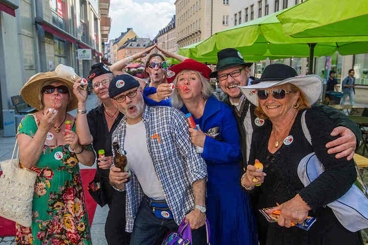 Das Hutfestival kam bei den Besuchern gut an. Heute geht die Gaudi in die zweite Runde.