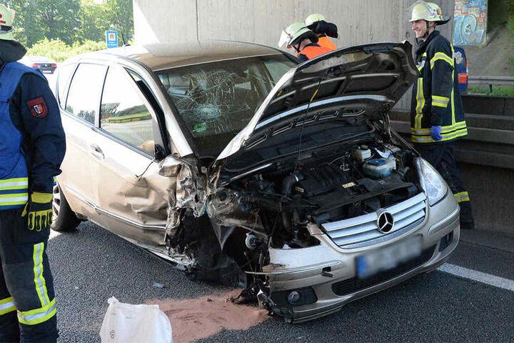 Der Geisterfahrer verursachte mehrere Crashs.
