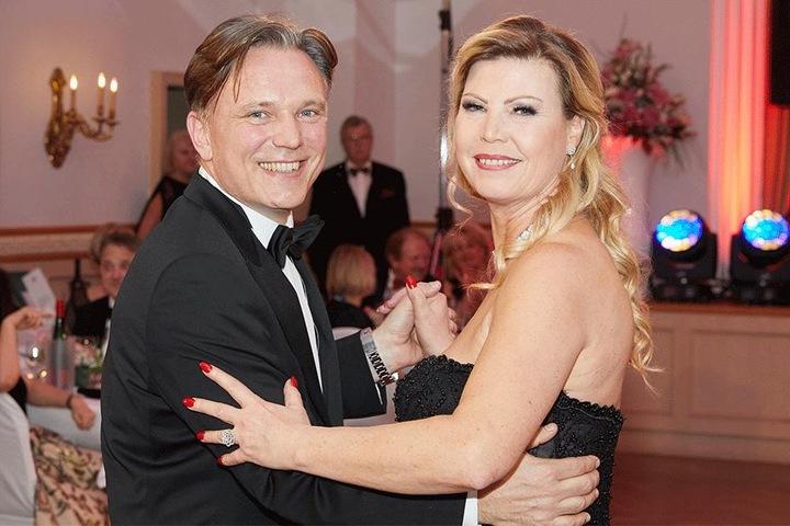 Die Gastgeber der Meißner Ballnacht: Tessa (50) und Andreas Barth (53).