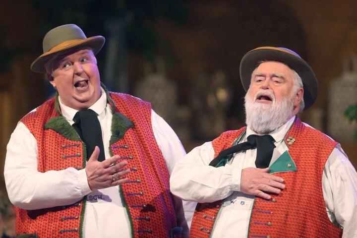 Die Wildecker Herzbuben (rechts Wilfried Gliem) sind hessische Musiker.