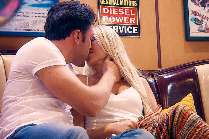 Beim Einzeldate wurde es zwischen Daniel und Jessica romantisch und sehr gefühlvoll.