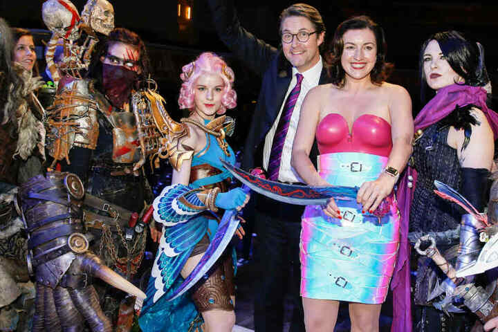 Dorothee Bär und Andreas Scheuer waren bei der Gala zum Deutschen Computerspielpreis zu Gast.