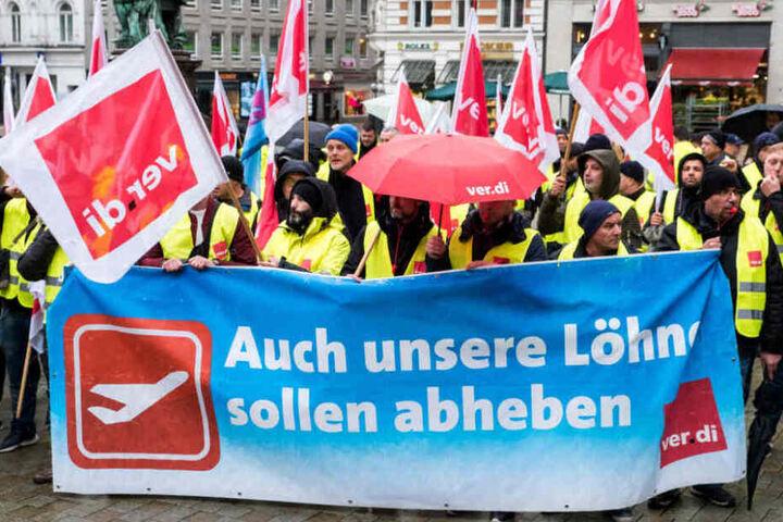 In diesem Jahr streikten bereits die Mitarbeiter des Hamburger Flughafens.