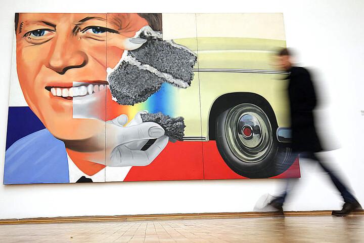 Die James-Rosenquist-Ausstellung endet bald.