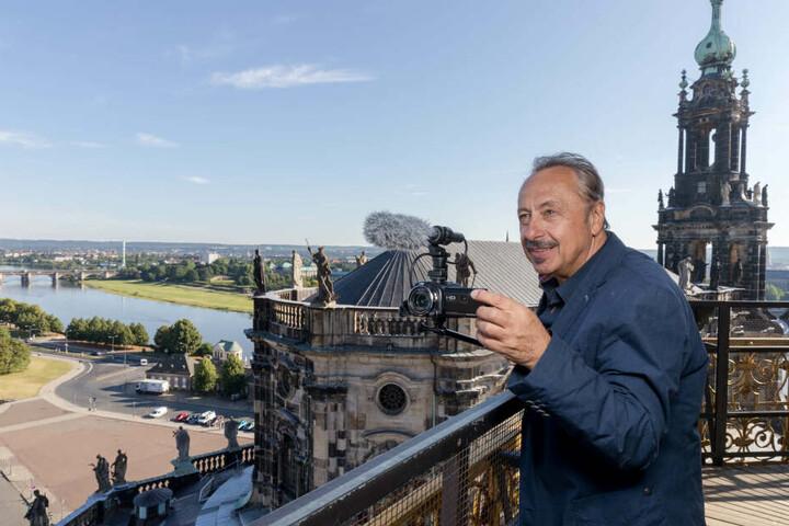Schauspieler Wolfgang Stumph in Dresden.