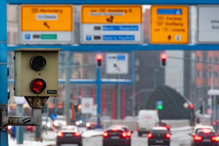 Erfolgreichster Rotlichtblitzer: Bahnhofstraße.