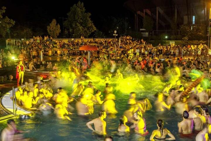 Rund 2800 Besucher kamen ins Arnhold-Bad.