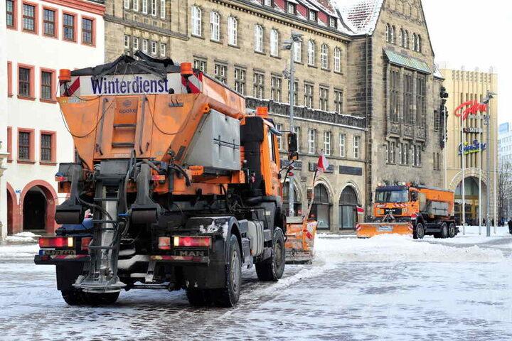 Der Chemnitzer Winterdienst soll in Wohngebieten besser werden.