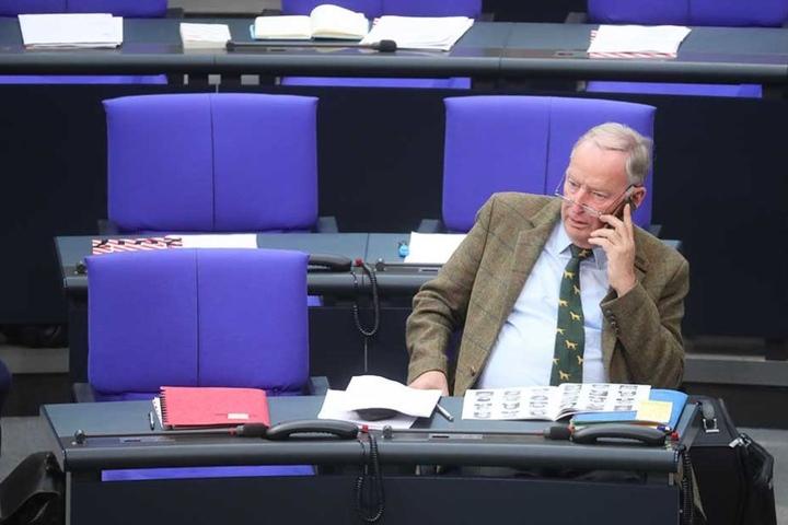 Alexander Gauland wird künftig im Bundestag sitzen.