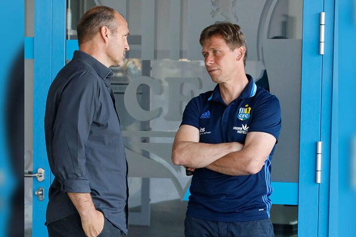 Steffen Ziffert und Sven Köhler