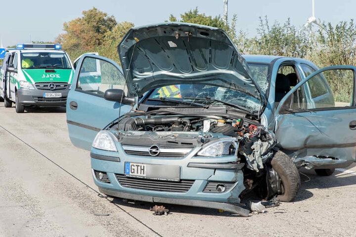 Der Fahrer des Opel Astras war falsch auf die Autobahn gefahren.