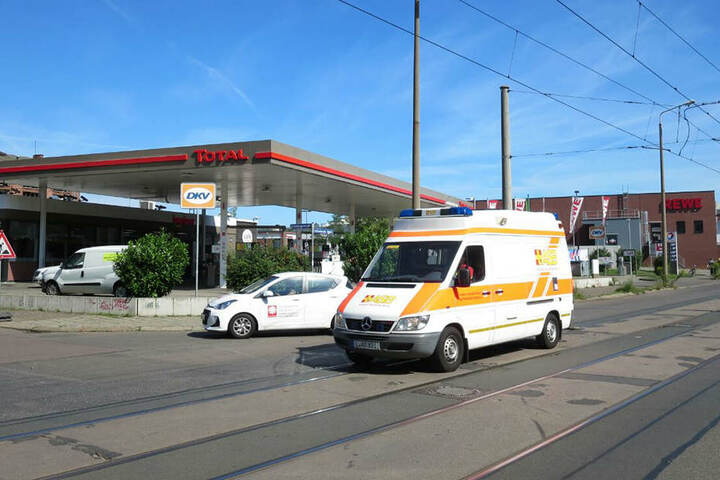 An der Zschocherschen Straße auf Höhe der Limburger Straße kam es in der Nacht zu Sonntag zu der Messerstecherei.