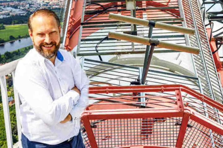 Michael Radomski, Geschäftsführer der Uplink Network GmbH aus Düsseldorf.
