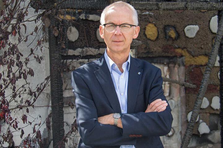 Diakonie-Chef Hans-Jürgen Günther war am Sonntag geschockt.
