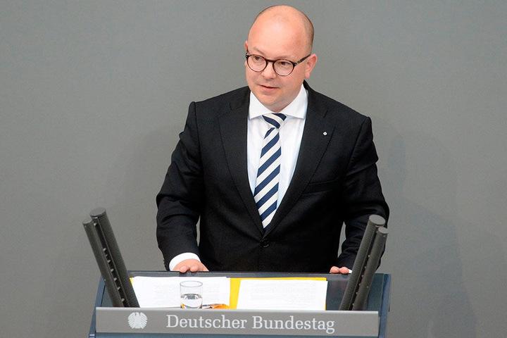 Premiere: Frank Müller-Rosentritt (35, FDP) hat am Donnerstag seine erste Rede im Hohen Haus gehalten.