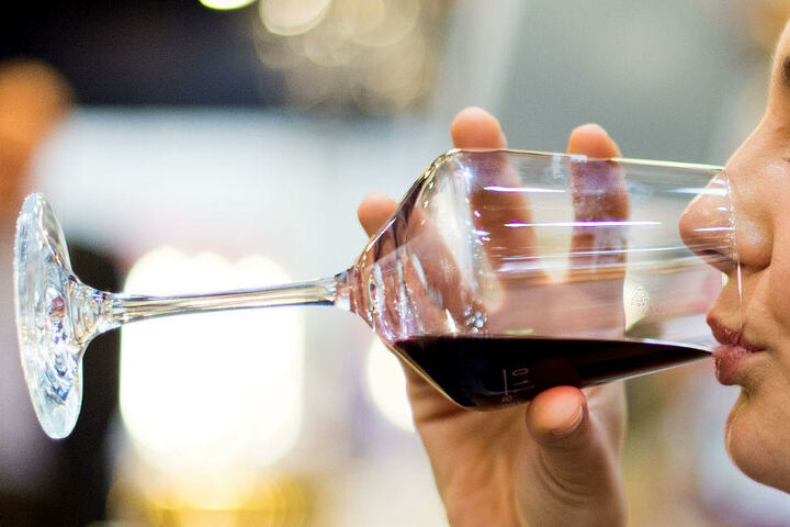 Bei der Weinmesse können Besucher auch wieder jede Menge verkosten.