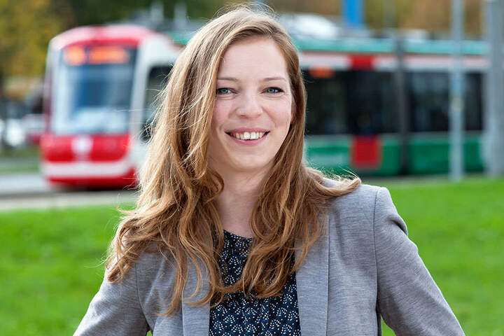VMS-Sprecherin Jeanette Kiesinger (34) sieht sich im eingeschlagenen Weg bestätigt.