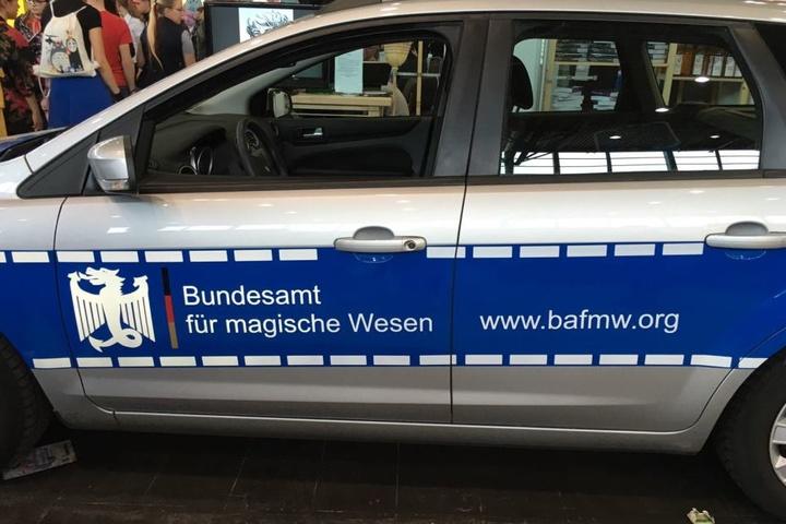 """Das """"Bundesamt für magische Wesen"""""""