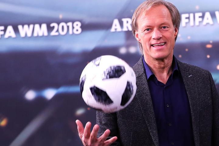 Die Fußball-WM 2018 war das letzte große Turnier für Gerhard Delling (59).