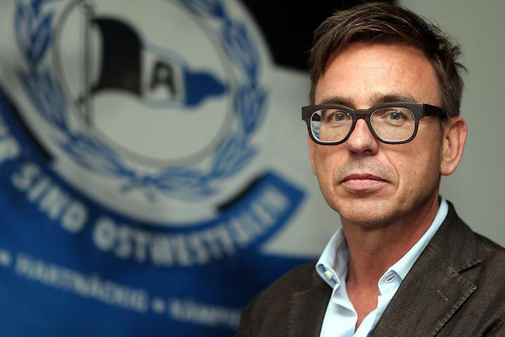 Finanz-Geschäftsführer vom DSC, Markus Rejek (49), stuft die finanzielle Situation als angespannt aber lösbar ein.