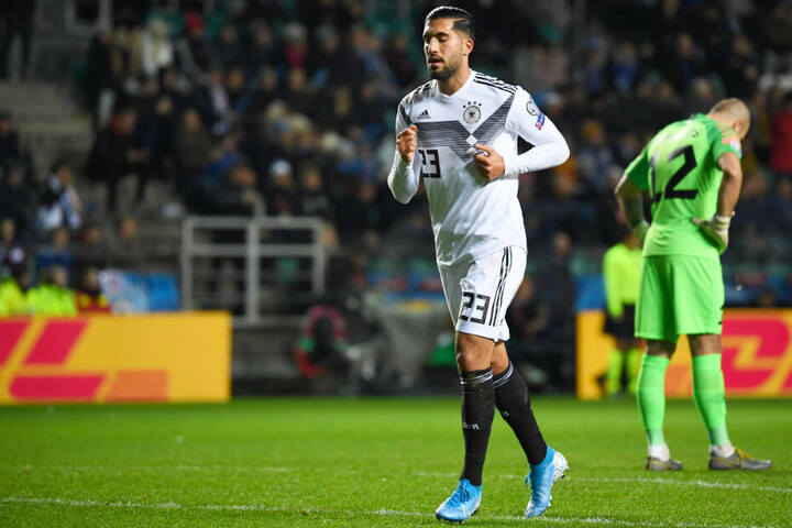 Emre Can hat für die deutsche Nationalmannschaft bislang 24 Länderspiele bestritten (ein Tor).