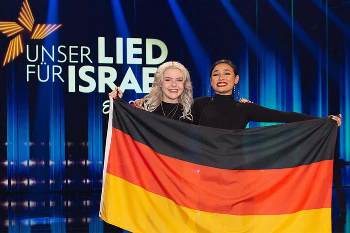 Das Pop-Duo S!sters tritt für Deutschland beim Eurovision Song Contest an.