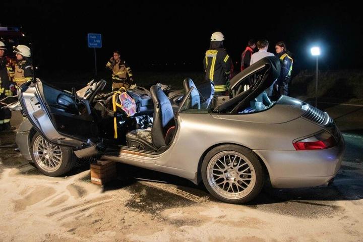 Die Fahrerin erlitt schwere Verletzungen.