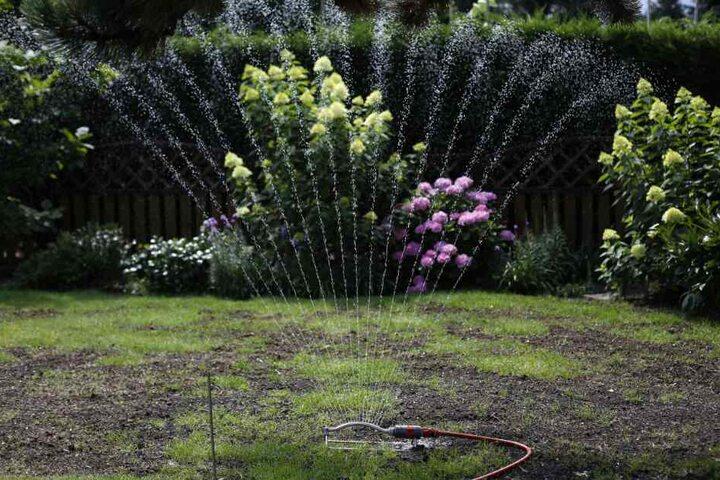 Die Stadt Löhne fordert seine Bürger derzeit auf, dass Sprengen ihrer Gärten zu unterlassen. (Symbolbild)