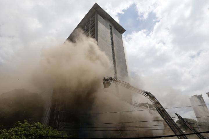Mehr als 300 Gäste mussten aufgrund des Brandes evakuiert werden.