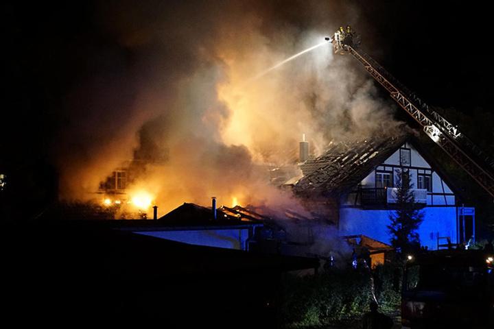 Das Feuer störte den Dachstuhl und große Teile des Restaurants.