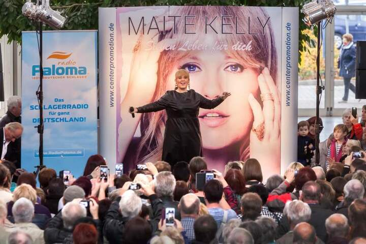 Im Neefepark stellte Maite Kelly ihr neues Album vor.