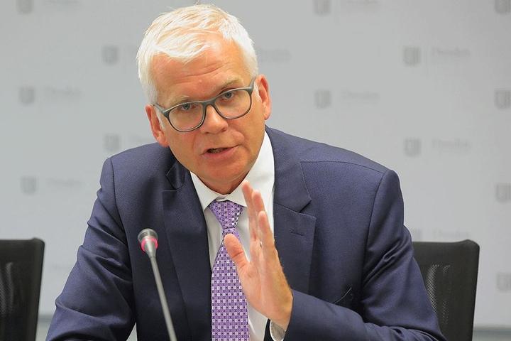War als Finanzbürgermeister für die Rathaus-Sanierung zuständig: Hartmut Vorjohann (54, CDU).