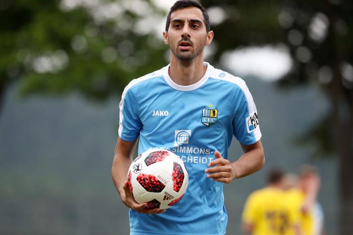 Rafael Garcia freut sich auf den scharfen Start am Sonntag und ist überzeugt, auch in der 3. Liga Akzente setzen zu können.