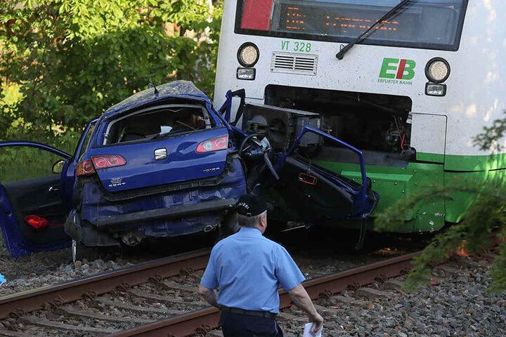Die beiden Frauen starben noch am Unfallort.
